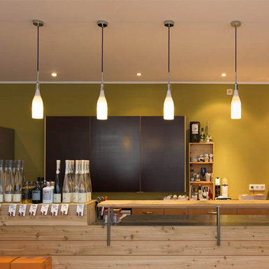 Led lampen cafe en bar horeca
