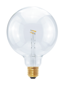 Segula E27 LED Globe 125 Curved Point | 2,7W (7W) | 70Lm | 2200K